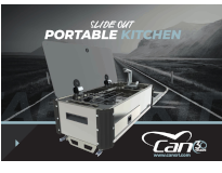 New SlideOut Portable Kitchen